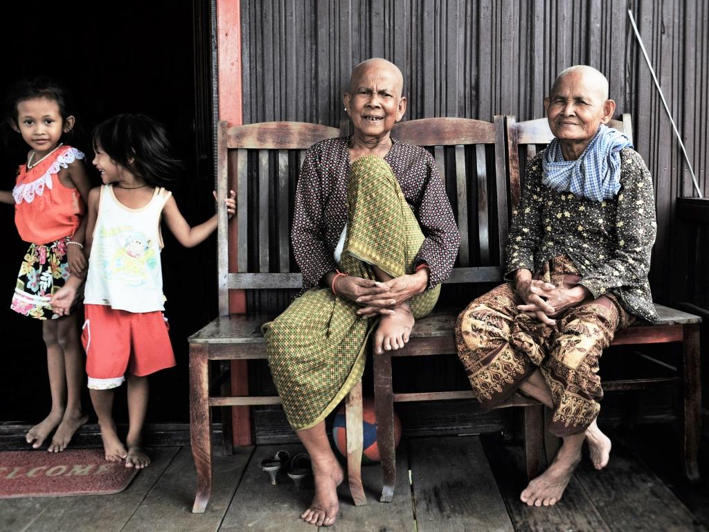 Nonnen von Tonle Sap #1